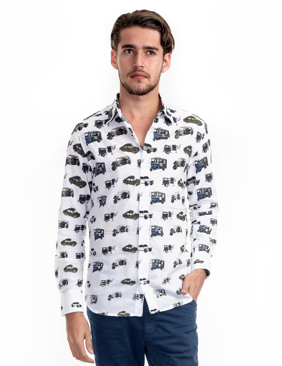 Transport Mens Shirt