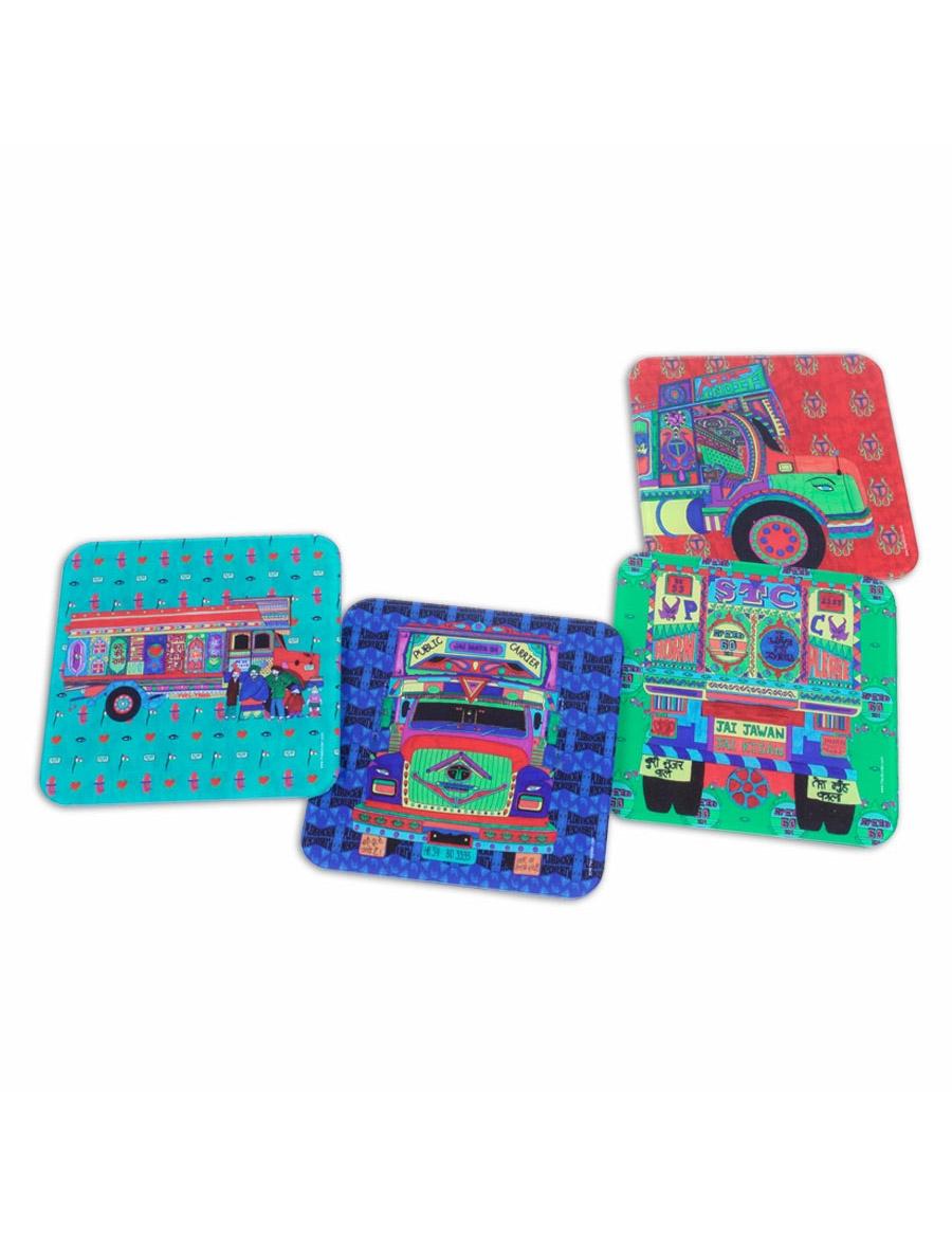 Truck Coasters