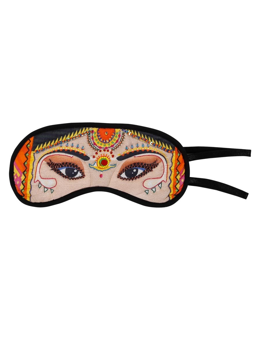 Dulhan Silk Eye Mask