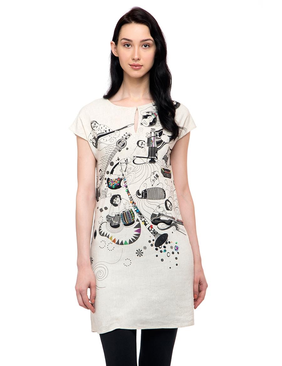 Sangeetkar Straight Dress