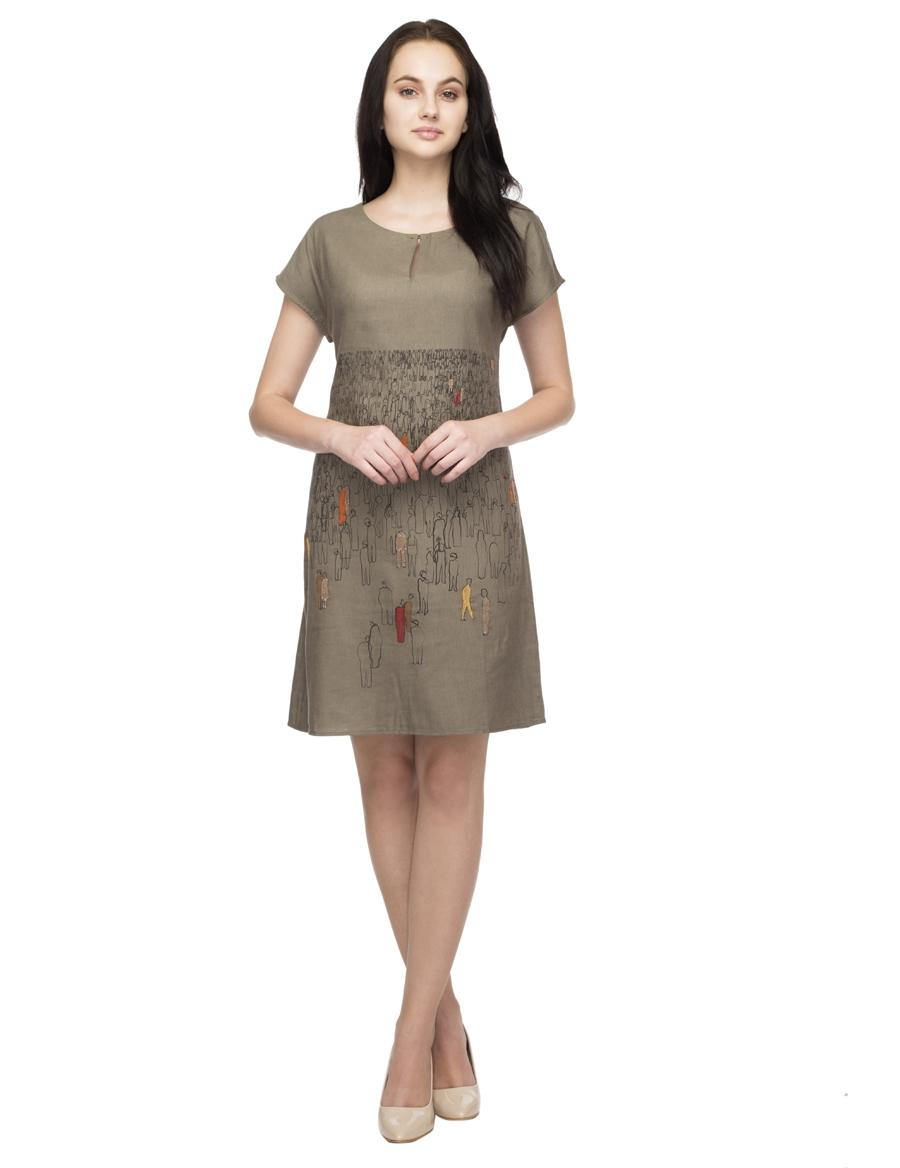 Mahakumbh Straight Dress