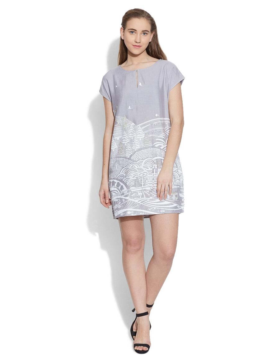 Kashmir Straight Dress