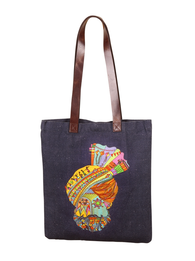 Baisakhi City Tote Bag