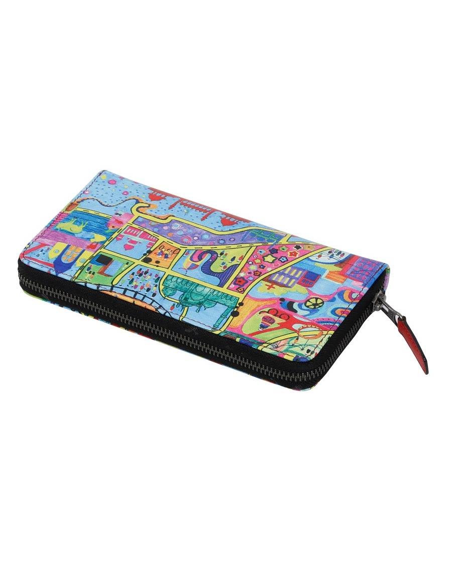 Purani Dilli Full Zipper Wallet