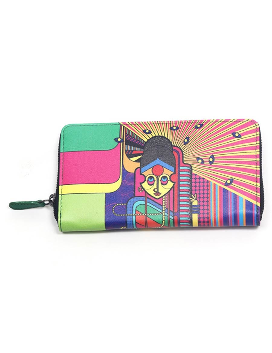 Konkani Full Zipper Wallet