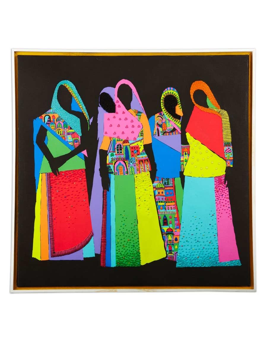 Chori Embroidered Art