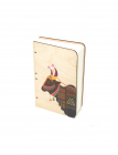 Cow Bahi Wood Journal