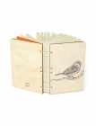 Sparrow Bahi Wood Journal