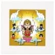 Lakshmi Mounted Art