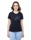 Folk Swallow Women's Tee