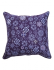 Floral Moth Emb. Cushion Cover