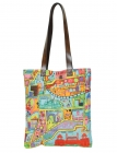 Purani Dilli City Tote Bag