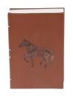Dandy Horse Leather Bahikhata