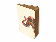 Royal Elephant Wood Journal