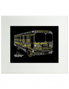 Bus Framed Art