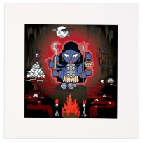 Kali Mounted Art