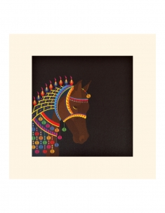 Royal Horse Mounted Art