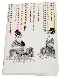 Flower Ladies Journal (Size A5)