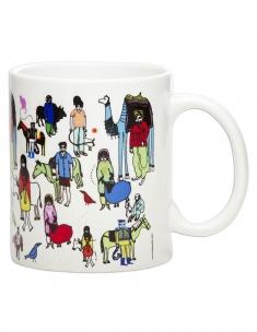 People with Animal Coffee Mug