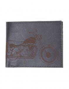 Bike Mens Leather Wallet