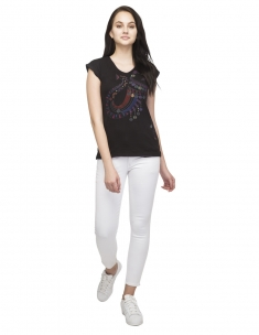 Royal Elephant Womens Tee