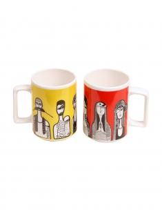 Nar-Nari Chai Mug Set