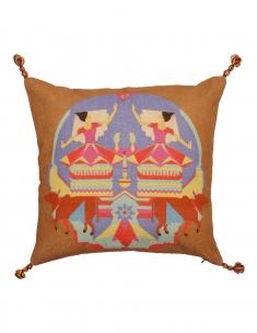 Manipuri Cushion Cover