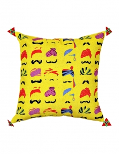 Pagdi Cushion Cover