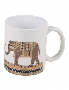 Dandy Elephant Coffee Mug