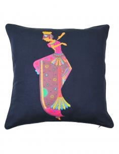 Kuchipudi Emb. Cushion Cover