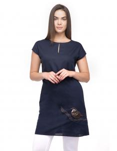 Sparrow Back Slit Dress