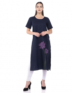 Lotus Long Tunic w Sleeve