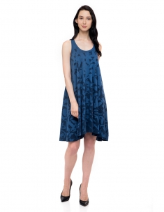 Avian Sky Short Swing Dress