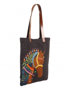 d8d9d3b7978 Shop   Bags   Tote Bags. Royal Horse City Tote
