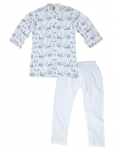 Cowherd Kids Kurta Pyjama