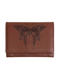 Bull Leather Card Wallet