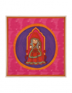 Dulhan Canvas Art