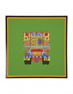 Truck Peeche Canvas Art